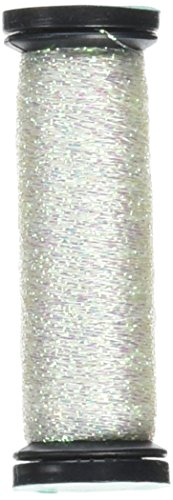 Kreinik BF-032 Blending Filament 50m Metallic Thread for Sewing, 55-Yard, Pearl