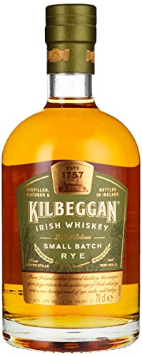 Kilbeggan Small Batch Rye Limited Release Whisky, 0.7 l