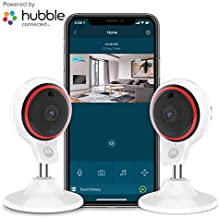 Motorola Focus71-2 Indoor Security Camera System - Surveillance, Elderly, Pet, Baby Monitor with Two-Way Audio Talk - Mountable Base, 1080p Video, 90-Degree Wide Angle View, Low Light and Night Vision