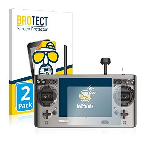 BROTECT 2X Entspiegelungs-Schutzfolie kompatibel mit Yuneec ST24 Bildschirmschutz-Folie Matt, Anti-Reflex, Anti-Fingerprint