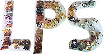 N/A USA LPS Cat and Dog LPS Great Dane LPS Collie LPS Dachshund Dog Puppy LPS Shorthair Cat Kitty Figure with Accessories Lot Figure Collection Kids Birthday Xmas Gift 30 PC