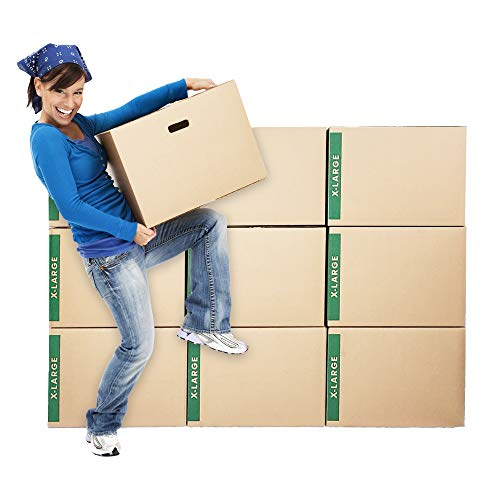Extra Large Moving Boxes with Handles Pack of 10 – 23'x23'x16' – Cheap Cheap Moving Boxes