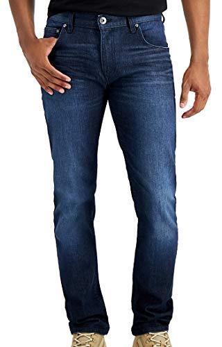 INC Mens Jeans Wyatt 40x32 Stockholm Skinny Fit Stretch Blue 40