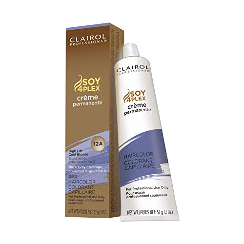 Clairol Permanent Crème, 12a High Lift Cool Blonde, 2 oz