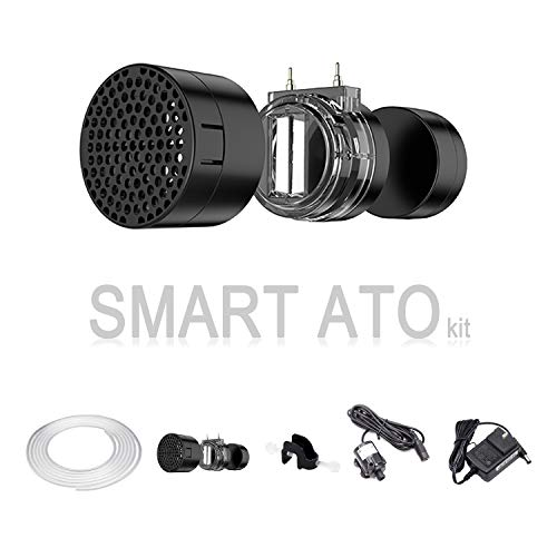 Himarine Smart Auto Aqua ATO kit Automatic Top Off System Water Filler Refiller Water Level Controller w/Water Pump for Marine Reef Aquarium Fish Tank (Smart ATO)