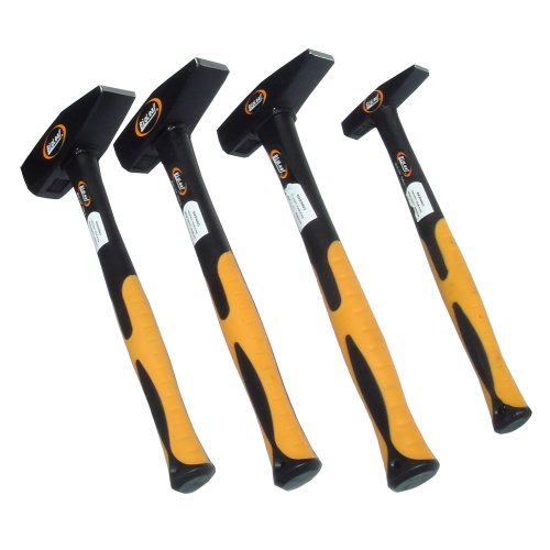 4 Hammer Set 300g 500g 1000g 2000g Schlosserhammer DIN 1041 Hammer-Set