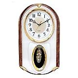 Reloj de Pared Reloj de Pared Movimiento Musical Relojes de Pared Habitación Decorativo Decorativo Dormitorio Alarma...
