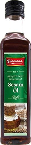 Diamond Aceite De Sesamo Tostado 100%, 250 ml