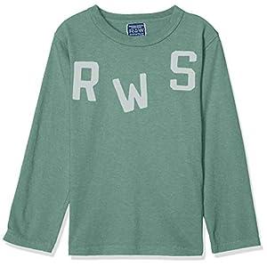 [ラゲッドワークス] RWS プリントロングTシャツ 通園・通学シリーズ。 キッズ カーキ 日本 日本 90 (日本サイズ90 相当) (日本サイズ90 相当)
