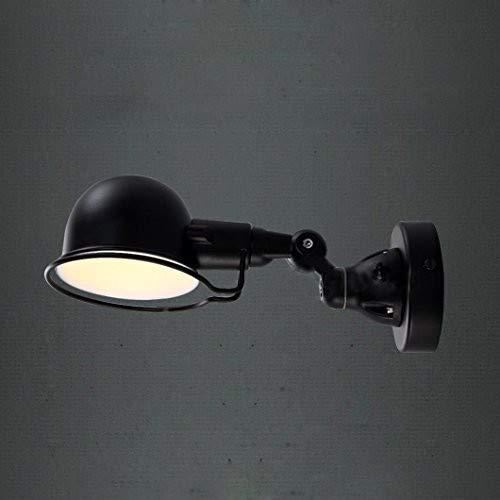 """La luz industrial del brazo de la profundidad de las luces de pared del vintage 11.8""""enciende con las luces de pared industriales acabadas negras, de la vendimia"""