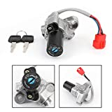 Artudatech Moto Interruptor de Arranque Set, Interruptor de Encendido con y Llaves Ignition Switch Lock para Yamaha XVS 125 250 400/C 650 1100 Drag Star/V-Star