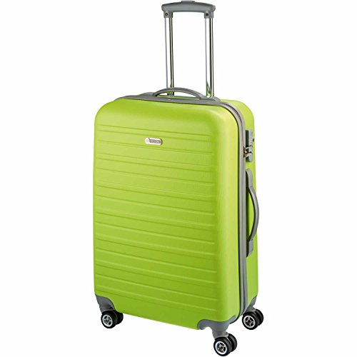 D&N Travel Line 9400 Koffer, 66 cm, 63L, Limette