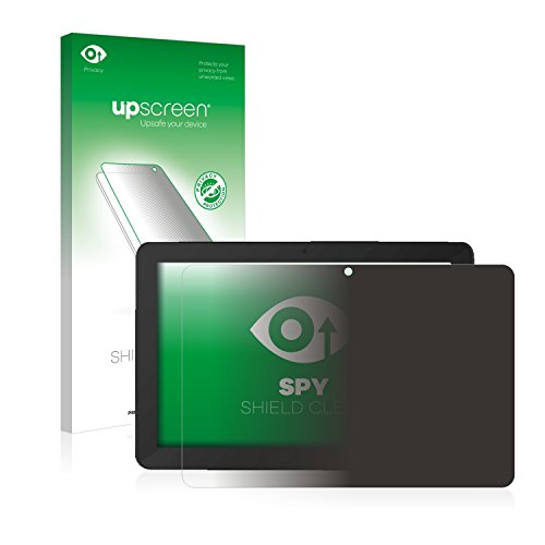 upscreen Anti-Spy Blickschutzfolie kompatibel mit TrekStor SurfTab Breeze 10.1 Quad Plus Privacy Screen Sichtschutz Bildschirmschutz-Folie