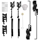 Sunroof Track Assembly Repair Kit Fit for F250 F350 F450 2005-2016, Ford F150 2000-2014, Ford Expedition 2000-2017,Lincoln Navigator 2000-2017,Lincoln Mark LT 2006-2008