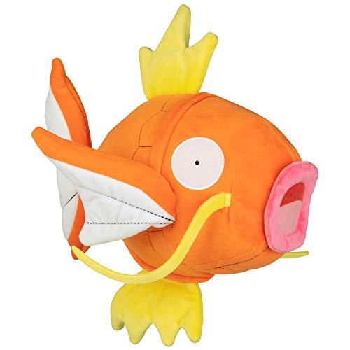 PoKéMoN Flopping Magikarp Plush - 10 Inch Interactive Pokemon Fish Toy Flops, Wiggles and Shakes - Age 4+