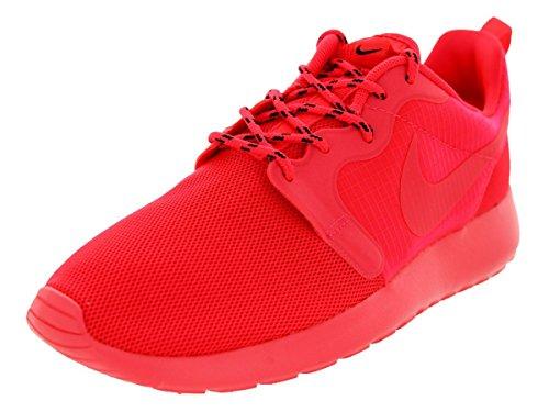 Nike WMNS Roshe Run Laser Crimson Red 3M - Laser Crimson/Black/Volt Trainer, Rot - rot - Größe: 42 EU