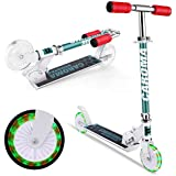 Adjustable Height EPCTEK Kick Scooter for Kids with Foldable and Removable Seat Kick Scooter for Toddlers Girls /& Boys 2-8 Years-Old