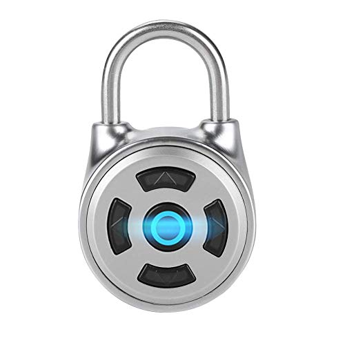 YANGSANJIN Smart Keyless Lock Mini Wireless Metal Bluetooth Elektronisch slot Veiligheid APP besturing voor bagage, Keyless Smart Fingerprint Lock