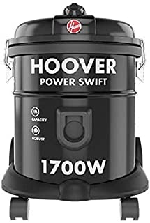 Hoover Power Swift Tank Vacuum Cleaner Black HT85-T0-ME,1700W