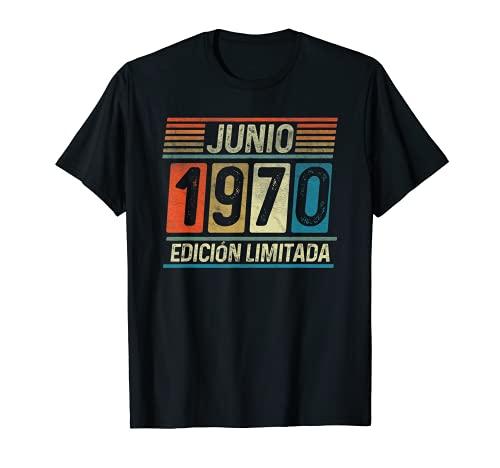 Junio 1970 Vintage - 51 años Regalo Cumpleaños Hombre Camiseta