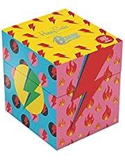 Happy Socks Bowie Kids Gift Set di 4 scatole regalo colorate e giocose, per uomini e donne, calzini in cotone di alta qualità, 4 paia, misura 7-9Y