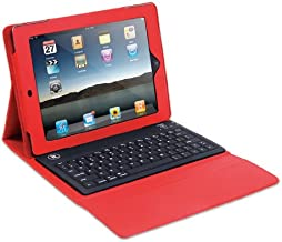 Innovative Technology ITIP-4000R Case for iPad with Bluetooth Keyboard, Red