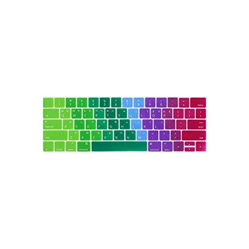 Koreanische Tastatur-Schutzfolie, kompatibel mit MacBook mit Touch Bar 13 15 A1706 A1707A1989 Koreanischer Tastaturschutz Multi