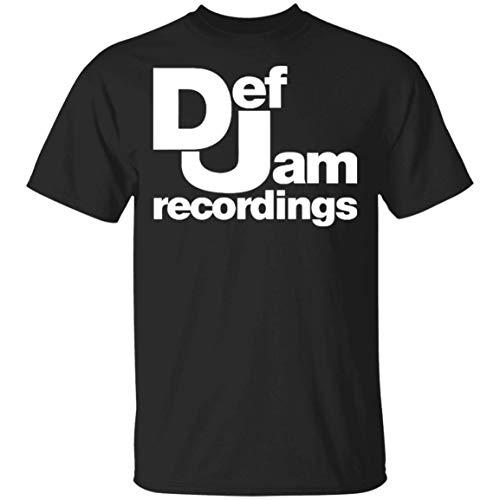 Cool Def Jam Recordings T Shirt Dreamville Death Row TDE Rap Hip Hop Tee Shirts Retro Sitcom Def Comedy Jam T-Shirt Black