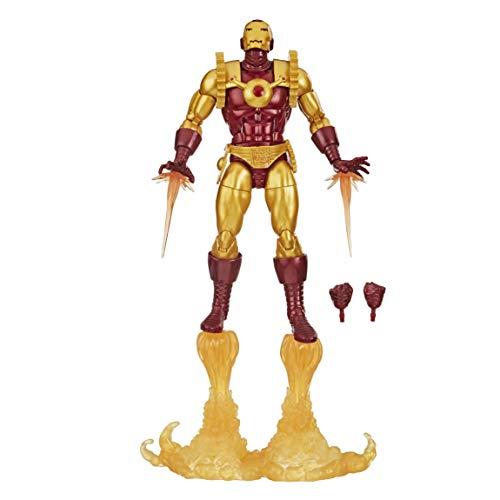 Boneco Marvel Legends Homem de Ferro Comic - E8708 - Hasbro