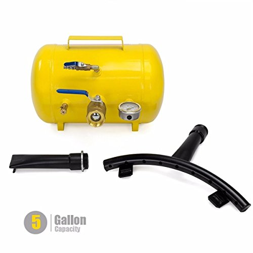 STKUSA Stark 5 Gal Rapid Inflator Air Bead Seater Tire Tool Pump Wheel Tool Air Operation Pressure Tractor Car Truck ATV Seating (5 Gallon) Capacity, Yellow