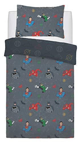 SELECT-ED® Luxuries Parure de lit réversible pour enfant Motif super-héros
