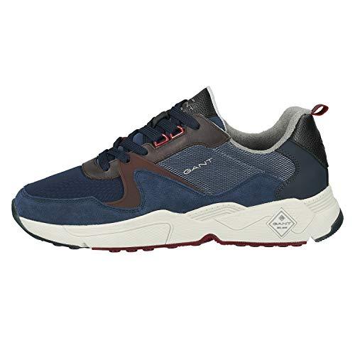 GANT FOOTWEAR Herren NICEWILL Sneaker, Marine, Marine, 40
