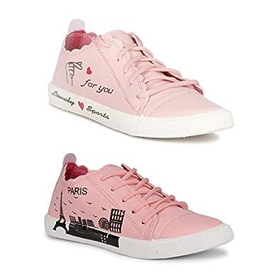 Claptrap Huge Collection ofWomen'sSlip-On Shoes (Pink-Paris Pink)