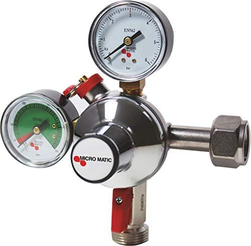CO2 drukregelaar voor alcoholvrije dranken Micromatic Premium Plus 7 bar
