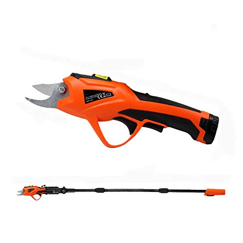 Best Price Professional Cordless Electric Pruning Shears Battery Powered Branch Cutter Tool for Cutt...