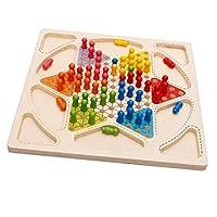 子供 大人 ダイヤモンドゲーム ボードゲーム チェッカー パーティー 家族遊び 頭脳トレーニング