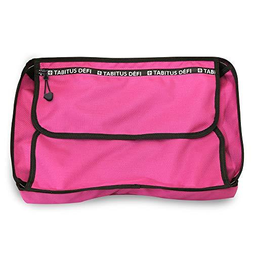 [タビタス デフィ]シャツケース Yシャツケース ワイシャツケース 収納 旅行 出張 トラベル 衣類収納 (ピンク)
