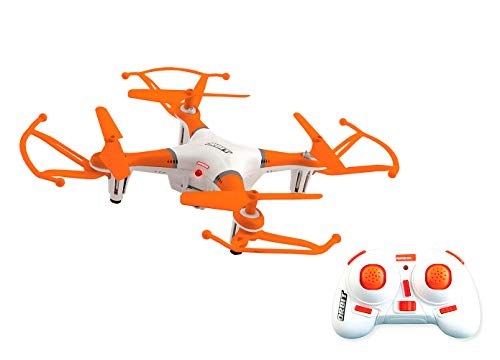 Ninco (NH90123) Nincoair Drone Orbit. Fácil pilotaje. 11.5 x 11.5 x 6 cm, color naranja, 13