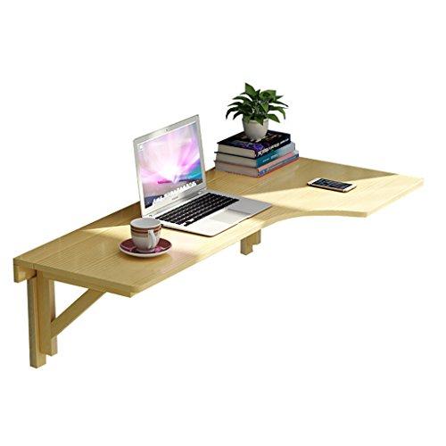 LIYONG Klapptisch Massivholz Computertisch Wandbehang Persönlichen Esstisch, Einfache Werkbank Tablet Stand (Size : R-100x60cm)