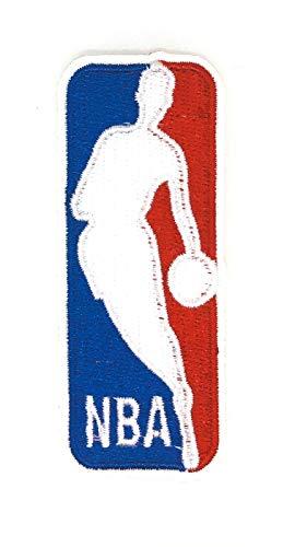 Gemelolandia | Toppa termoadesiva con logo NBA 8,5 x 3,5 cm | molto adesiva | Patch Stickers per decorare i tuoi vestiti | Facili da applicare