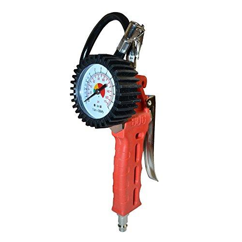 Kormax 038141 Medidor Presion de Aire Profesional con Manometro para Compresor