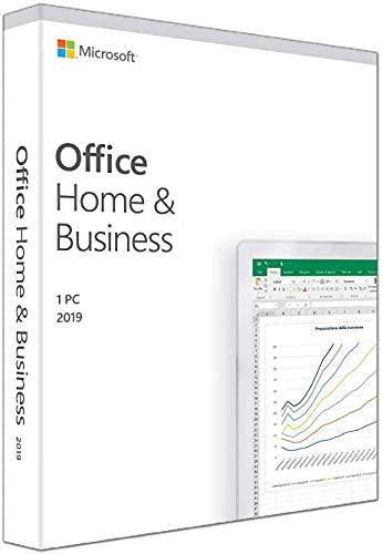 Microsoft Office Home & Business 2019(日本語・永続版)|Windows10対応|PC 1台 (スクラッチカード、DVDメディア等は付属しておりません)