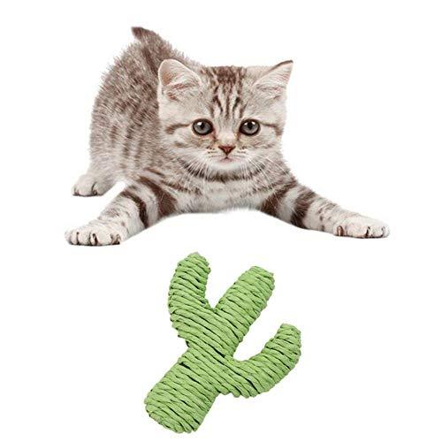 AYCPG Gato Rascador Mat Gatos rascadores for Gatos Rascadores Gatito arañazos Gato de cartón Scratchers de Muebles de la Guardia de Scratch Pulpo lucar (Color : Cactus)