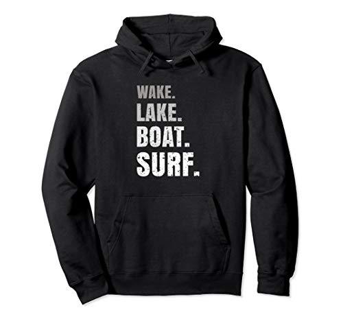 Wakeboard Wakeboarden I Wakeboarding I Wassersport Geschenk Pullover Hoodie