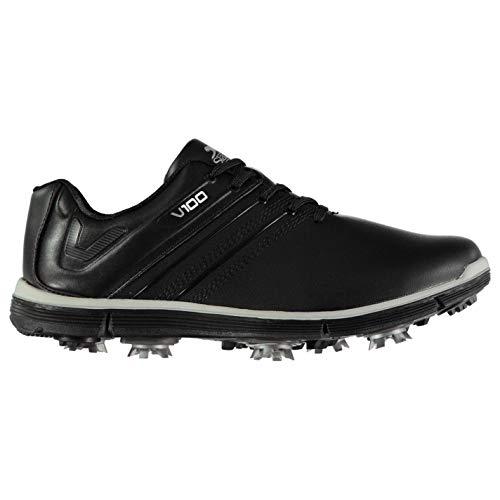 Slazenger Herren V100 Golfschuhe Dynamic Cleats Schwarz 42