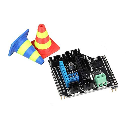 GESSIE DL01 Threefold Extruder Module 2 in 1 Out/2 in2 Out Module For 3D Printer LERDGE-S Board CH0406
