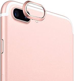 25cc9238aea Aubess For iPhone X 7 8 Plus - Carcasa Protectora para cámara Trasera,  Metal,