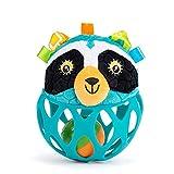 WT-DDJJK 1 x Silikon-Plüsch-Rassel mit Glocke, Schlagzeug-Spielzeug für Kleinkinder, Babys, Neugeborene, Tier-Design, Rassel, schüttelnde...