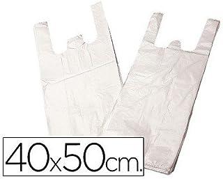 f634eaaf2 BOLSA PLASTICO CAMISETA 40X50 CM -PAQUETE 200