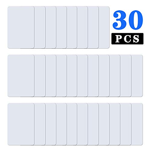 Tanzfrosch 30PCS NTAG215 NFC Blank Cards PVC Tag Works for All NFC-Enabled Devices, for Office Badges, Membership Cards, Tag-Mo and Amii-bo, BOTW